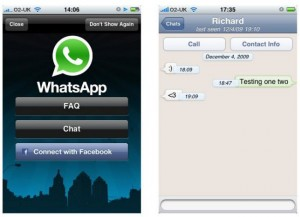 Whatsapp chatting